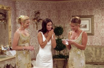 Lisa Kudrow, Courteney Cox Arquette, y Jennifer Aniston