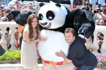 Angelina Jolie y Jack Black