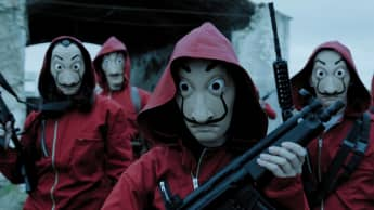 Money Heist Masks the meaning behind them Salvador Dali protest