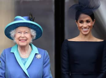 La reina Isabel y Meghan Markle
