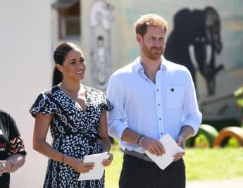 Prince Harry and Duchess Meghan receive famous guests on their podcast