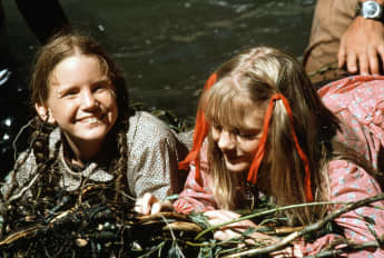 "Melissa Gilbert and Alison Arngrim in ""Our Little Farm"""