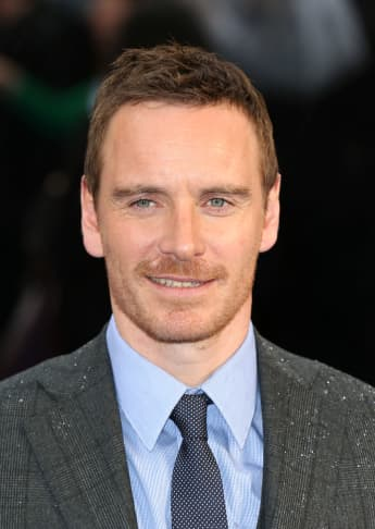 """Michael Fassbender attends the UK Premiere of """"X-Men: Days of Future Past"""" at Odeon Leicester Square on May 12, 2014 in London, England"""