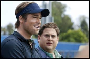 Brad Pitt and Jonah Hill in 'Moneyball'