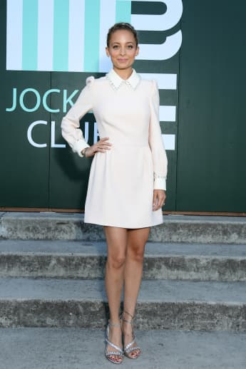 Nicole Richie attends miu miu club event at Hippodrome d'Auteuil on June 29, 2019 in Paris, France
