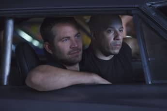 Paul Walker and Vin Diesel in 'Fast and Furious 5'.