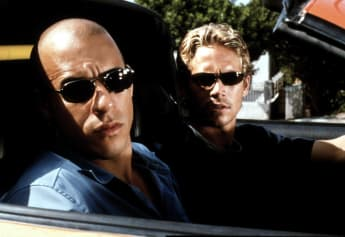 Paul Walker y Vin Diesel en 'The Fast and the Furious'