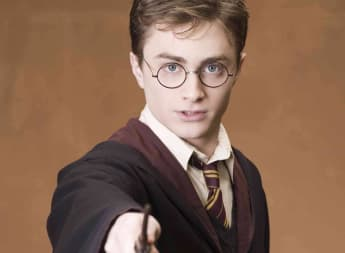 Daniel Radcliffe en una imagen promocional de la saga de 'Harry Potter'