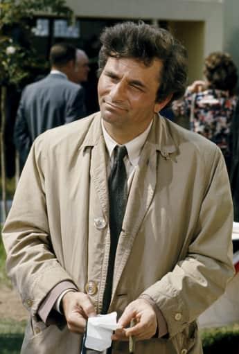 Peter Falk in 'Columbo'