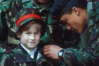 Príncipe Harry de niño