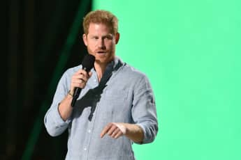 Prince Harry Gets Standing Ovation After Passionate Speech