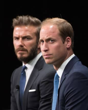 Prince William and David Beckham and Other Athletes Open Up About Mental Health.
