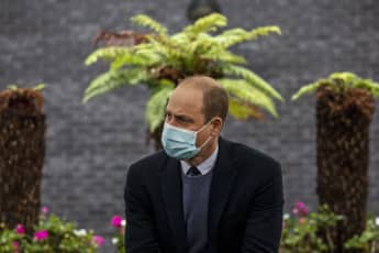 Report: Prince William tested positive for coronavirus back in April.