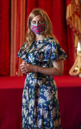 Princess Beatrice Visits Her Wedding Dress At Windsor Castle
