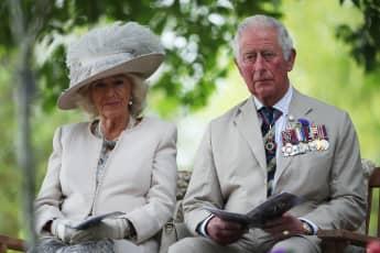 El príncipe Carlos y Camila Parker