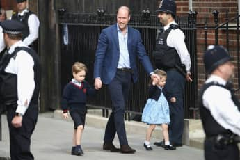 Prince William nicknamed George Charlotte