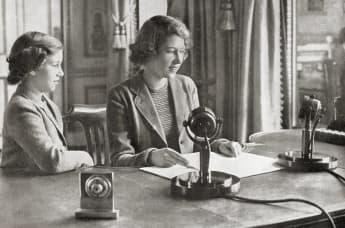 Queen Elizabeth's First Radio Broadcast 80 Years Ago - Listen Here!
