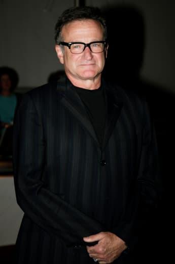 Robin Williams en el Premio Mark Twain en 2007