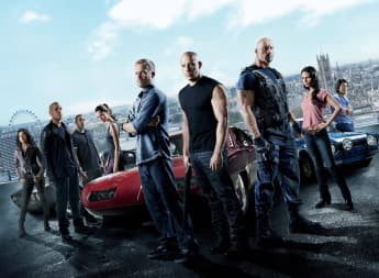 Movie poster 'Fast and Furious 6'