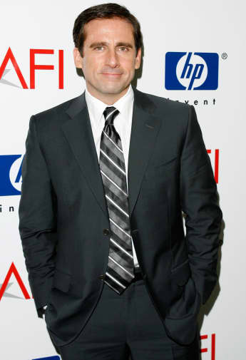 Actor Steve Carell arrives at the 7th Annual AFI Awards luncheon held at the Four Seasons Hotel on January 12, 2007 in Los Angeles, California.