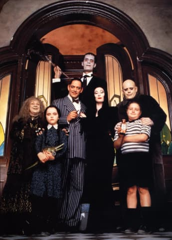 The Cast of 'The Addams Family'.