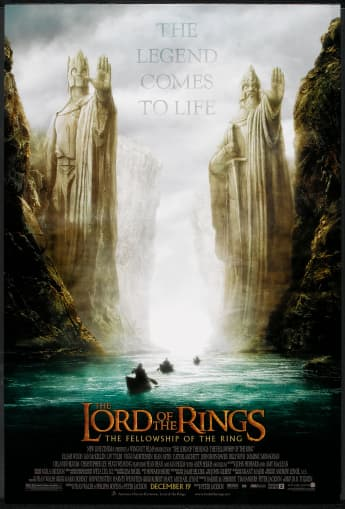 'The Fellowship of the Ring' movie poster