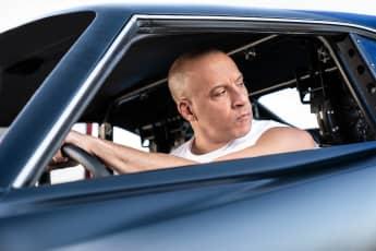 Vin Diesel en una escena de 'Rápidos y furiosos 9'