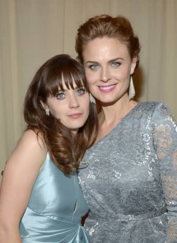 Zooey Deschanel New Girl Emily Deschanel Bones