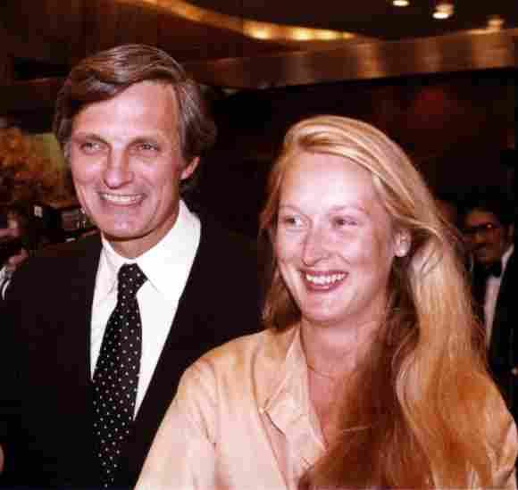 Alan Alda y Meryl Streep