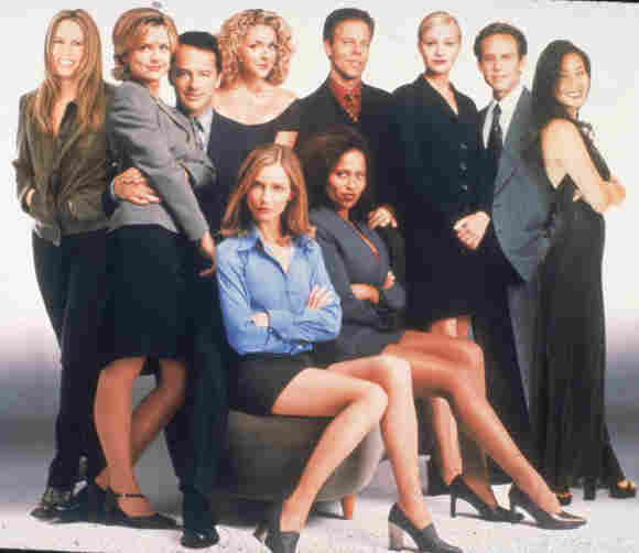 The 'Ally McBeal' Cast