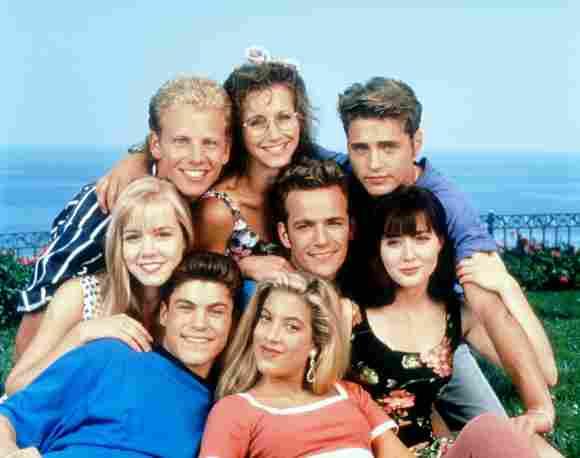 Reparto de 'Beverly Hills, 90210' 1992