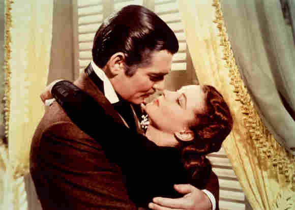"""Clark Gable and Vivien Leigh in """"Gone with the Wind"""""""