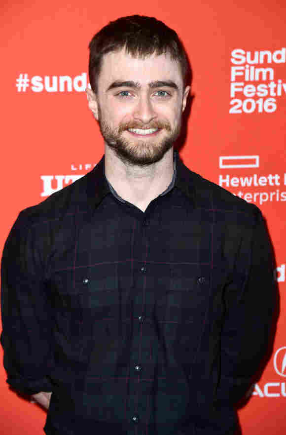 """Daniel Radcliffe attends the """"Swiss Army Man"""" Premiere during the 2016 Sundance Film Festival"""