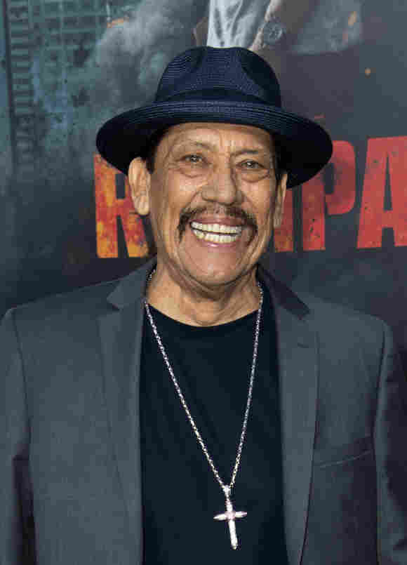 """Danny Trejo attends the World Premiere of """"Rampage"""" on April 4, 2018, in Los Angeles, California"""