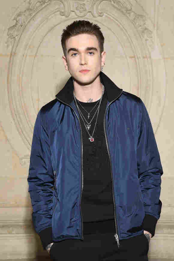Gabriel-Kane Day-Lewis attends the Christian Dior Haute Couture Spring Summer 2018 show as part of Paris Fashion Week.