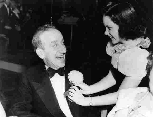 Judy Garland and Jimmy Durante 1931
