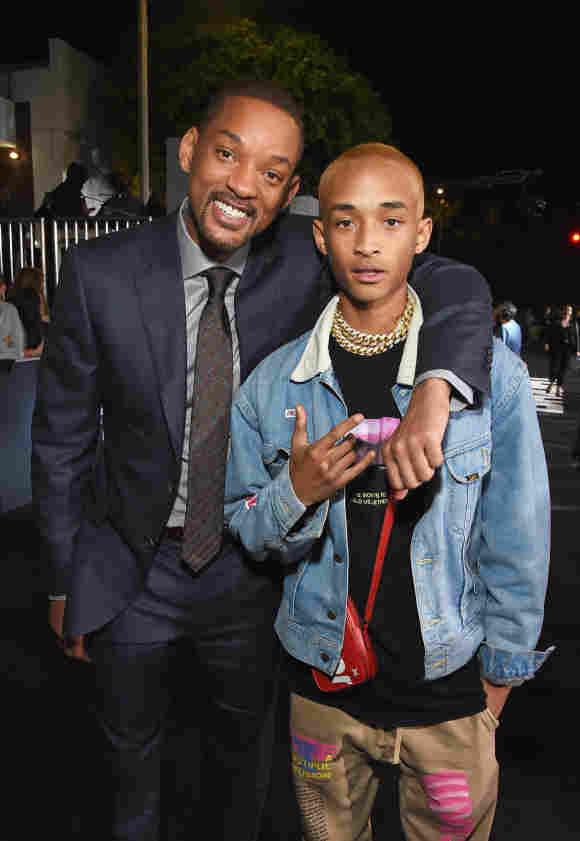 Will Smith and Jaden Smith attend the LA Premiere of Netflix Films 'BRIGHT' .