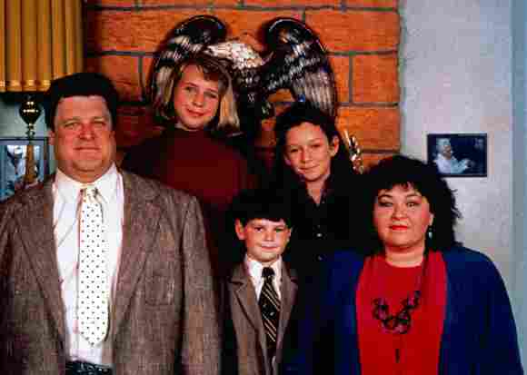 Cast Of 'Roseanne': Then & Now.