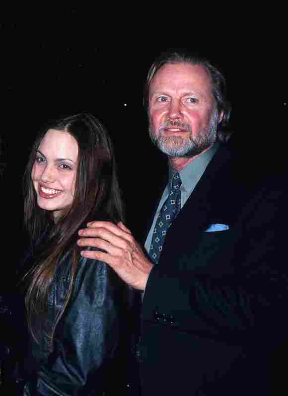 Jon Voight & Angelina Jolie: Relationship Pictures (1994) father daughter interview 2020 now today