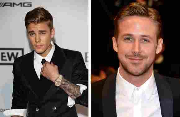 Justin Bieber y Ryan Gosling