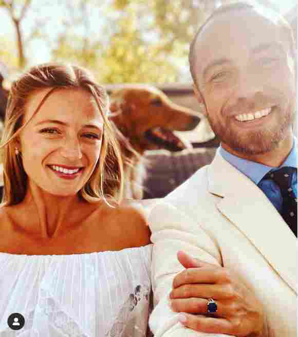 Kate Middleton's Brother James Marries His Fiancée Alizee Thevenet wedding pictures photos 2021 partner girlfriend relationship