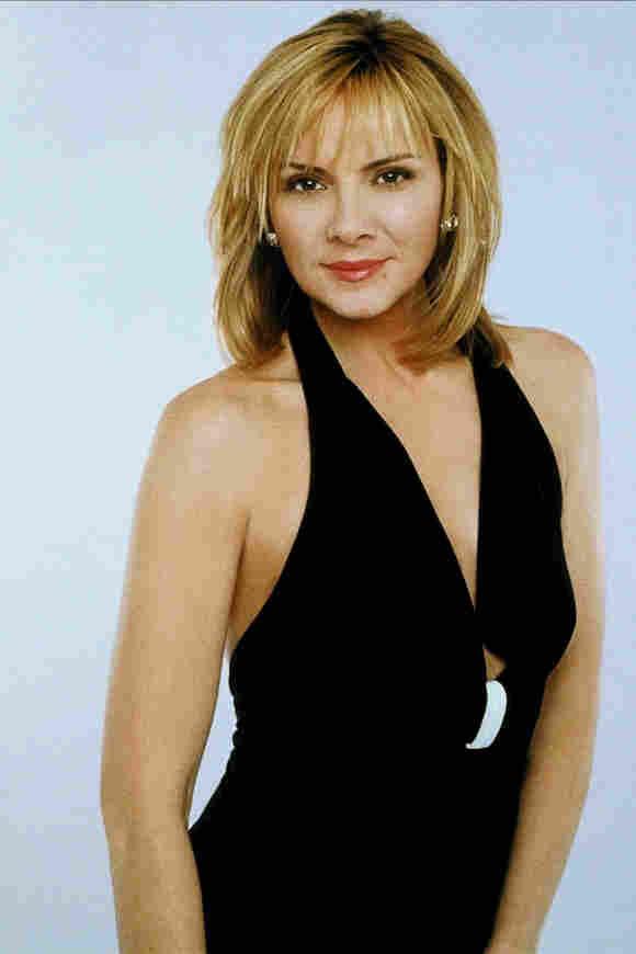 Kim Cattrall en una imagen promocional de la serie 'Sex and the City'
