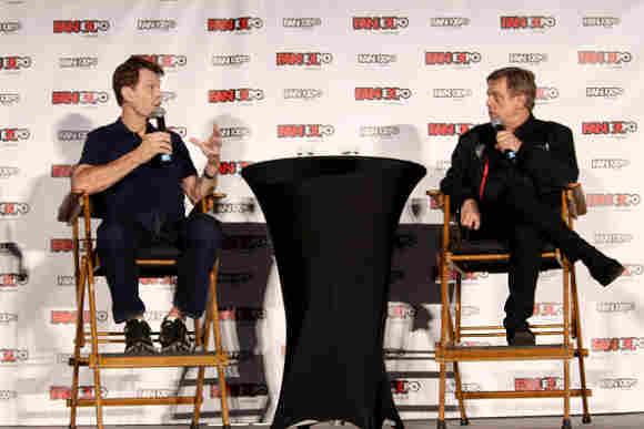 Mark Hamill y Kevin Conroy