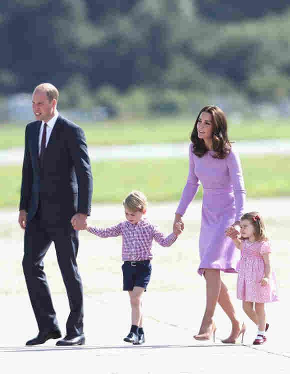 Prince William, Prince George, Duchess Catherine, Princess Charlotte