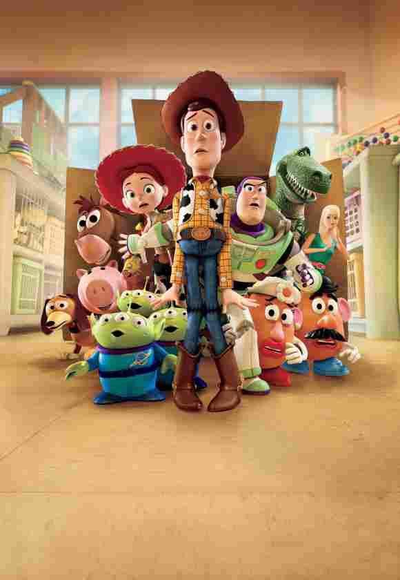 El elenco de 'Toy Story'