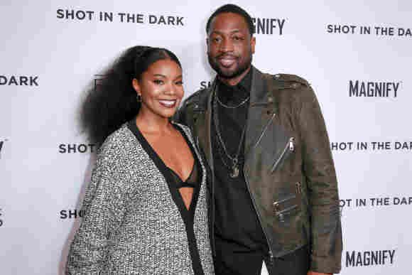 These Stars Are Married To Professional Basketball Players NBA famous wives actresses models relationships dating Dwayne Wade Gabrielle Union 2021