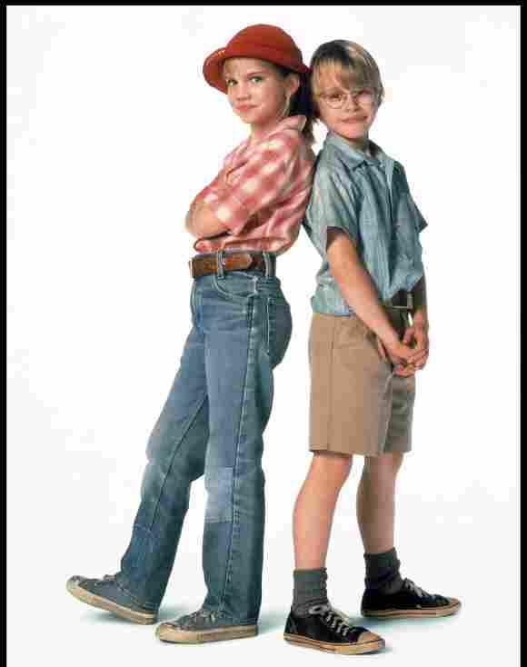 """Anna Chlumsky y Macaulay Culkin como """"Vada"""" y """"Thomas"""" en 'My Girl'."""