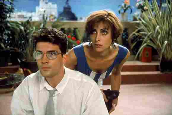 Antonio Banderas in 'Women On the Verge of a Nervous Breakdown' 1988.
