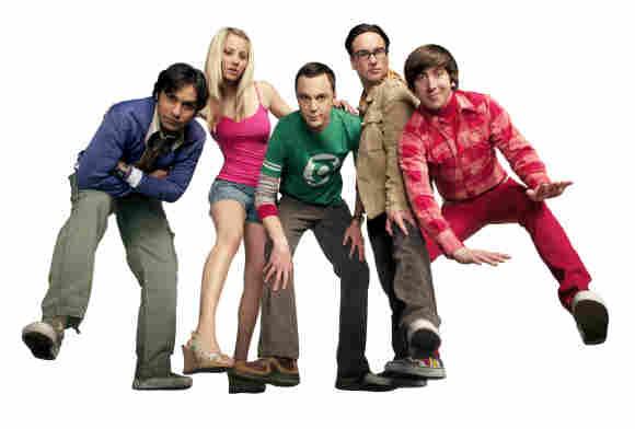 El elenco de 'The Big Bang Theory' en 2007.