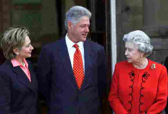 Bill Clinton Rejected The Queen Invite To Palace To Dine With PM Instead